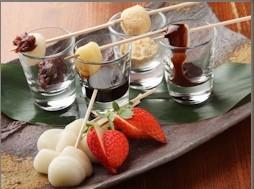 白玉と4種のソース ¥590