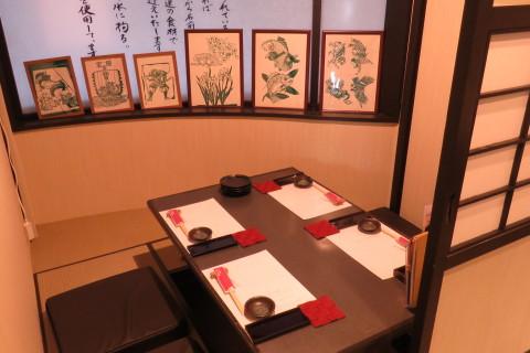 """個室でゆったり! 北海道の貝料理をメインに、お料理との相性の良い地酒も堪能できる""""なむら別邸""""は観光客にもオススメ!!"""