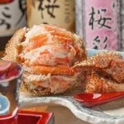 新年会 名物!毛蟹『だるま』付き宴会コース!